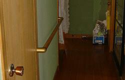 廊下のバリアフリー